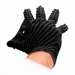 Shots FistIt Masturbation Glove Black