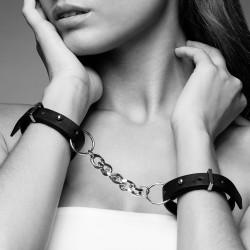 Bijoux Indiscrets Maze Thin Handcuffs Černá