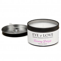 Eye of Love Pheromone Massage Candle for Women-Evening Delight 150ml