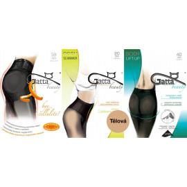 Gatta akční balíček zeštíhlujících punčoch - Zeštíhlující punčochy Tělová 3ks