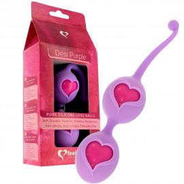 Feelz Toys Desi Love Balls - Venušiny kuličky Fialová