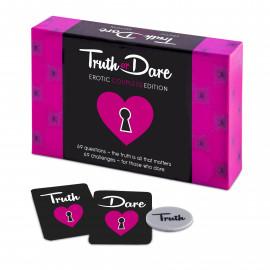 Tease & Please Truth or Dare Erotic Couple(s) Edition EN - Erotická hra Anglická verze