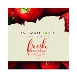 Intimate Earth Oral Pleasure Glide Fresh Strawberries 3ml