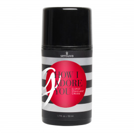 Sensuva G, How I Adore You G-Spot Stimulant Cream 50ml