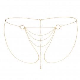 Bijoux Indiscrets Magnifique Bikini Chain 0270 Zlatá