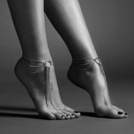 Bijoux Indiscrets Magnifique Feet Chain 0279 Stříbrná