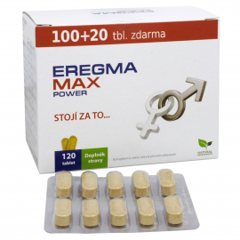 EREGMA Max Power 100+20 tbl. ZDARMA
