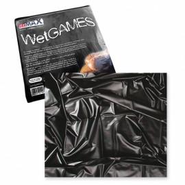 Joydivision SexMax WetGAMES Prostěradlo černé