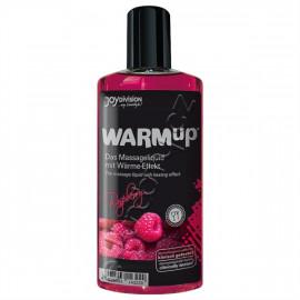 Joydivision WARMup Malina Masážní olej 150ml