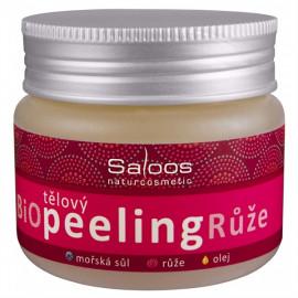Saloos Bio tělový peeling - Růže 140ml