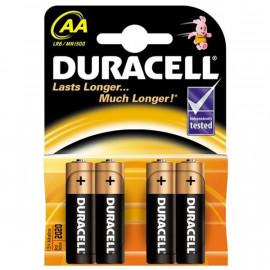 Baterie alkalická Duracell AA 4ks