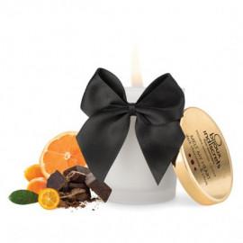 Bijoux Cosmetiques Dark Chocolate Massage Candle - masážní svíčka s vůní a chutí čokolády 70ml
