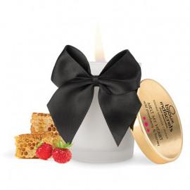Bijoux Cosmetiques Wild Strawberry Massage Candle - masážní svíčka s vůní a chutí divoké jahody 70ml