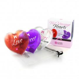 Lovers Premium Hot Massage Hearts - Masážní srdíčka