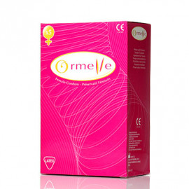 Ormelle ženský kondom 5ks