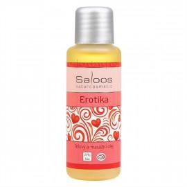 Saloos Erotika - Bio tělový a masážní olej 50ml