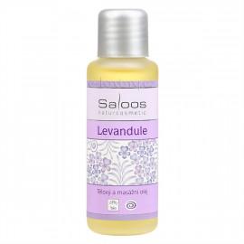 Saloos Levandule - Bio tělový a masážní olej 50ml