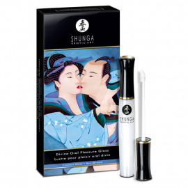 Shunga Divine Oral Pleasure Gloss Coconut - Lesk na rty 10ml
