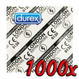 Durex London Extra Large 1000ks