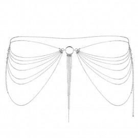 Bijoux Indiscrets Magnifique Waist Jewelry Stříbrná