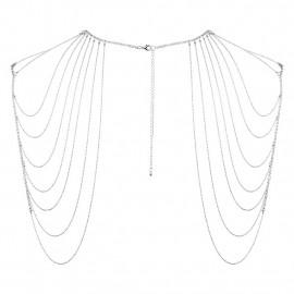 Bijoux Indiscrets Magnifique Shoulder Jewelry Stříbrná