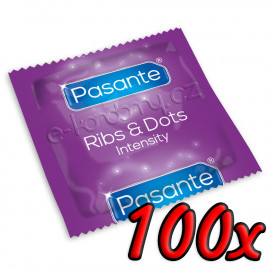 Pasante Ribs & Dots 100ks