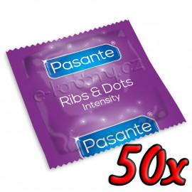 Pasante Ribs & Dots 50ks