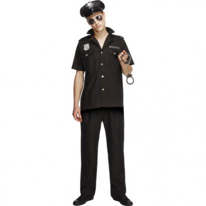 Fever Cop Costume 31876 Černá