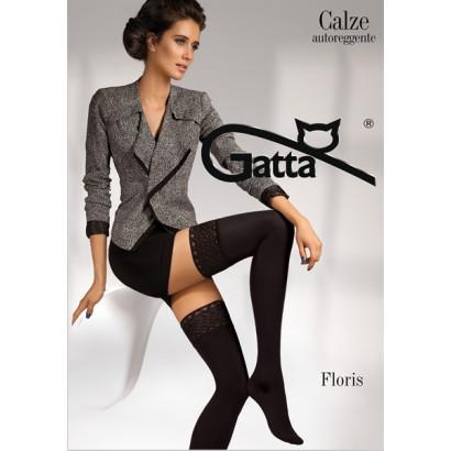 Gatta Floris - Samodržící punčochy