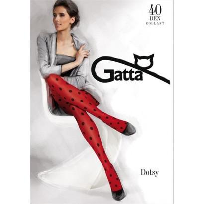 Gatta Dotsy 04 - Punčochové kalhoty Ferrari Červené