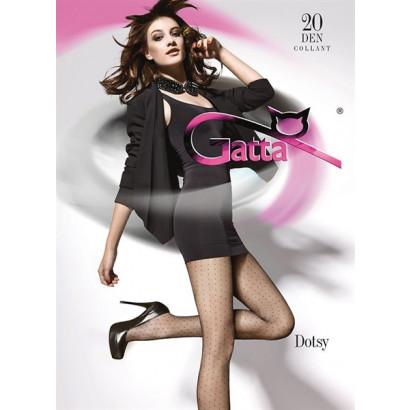 Gatta Dotsy 01 - Punčochové kalhoty Nero