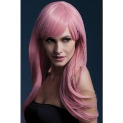 Fever Sienna Wig 42554 - Paruka Pastelovo-růžová
